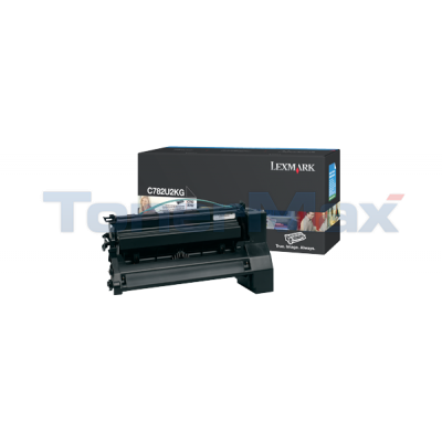 LEXMARK C782 XL PRINT CART BLACK 16.5K